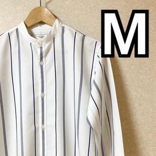 エディフィス(EDIFICE)の◇オススメ◇EDIFICE/エディフィス バンドカラーシャツ Mサイズ 送料無料(シャツ)