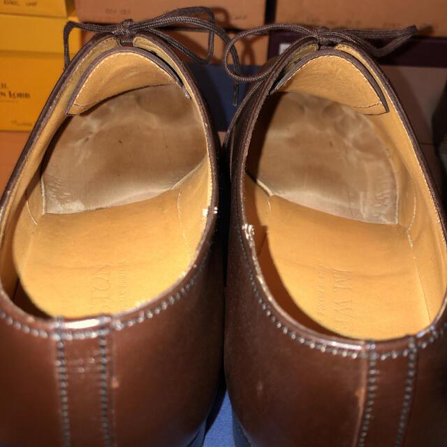 J.M. WESTON(ジェーエムウエストン)のJ.M.WESTON 237 と 300 サイズ7.5D 2足 J.Mウエストン メンズの靴/シューズ(ドレス/ビジネス)の商品写真
