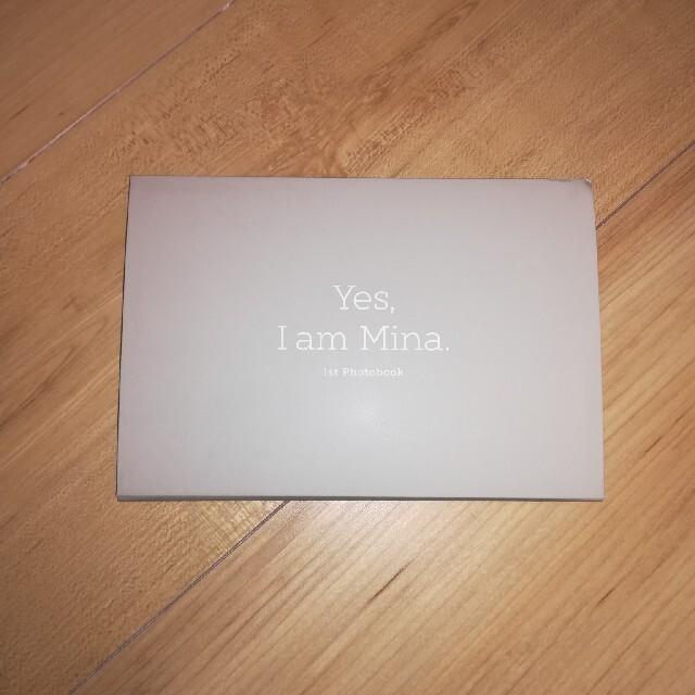 Waste(twice)(ウェストトゥワイス)のtwice ミナ 写真集【Yes,I am Mina.】グレーver. エンタメ/ホビーのCD(K-POP/アジア)の商品写真