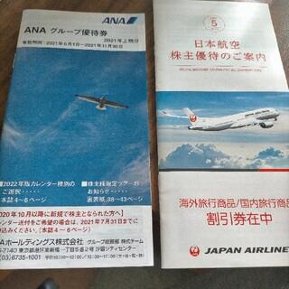 日本航空 全日本空輸 株主優待 冊子 JAL ANA(その他)