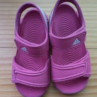 アディダス(adidas)のアディダス ピンク(サンダル)