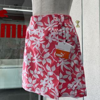PUMA - (美品)プーマボタニカルスカートLサイズ