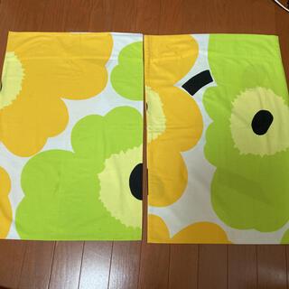 マリメッコ(marimekko)のmarimekko枕カバー handmade 2枚セット UNIKKO(その他)
