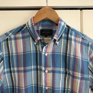BEAMS - ビームスプラス BEAMS PLUS + 日本製 チェックシャツ プルオーバー