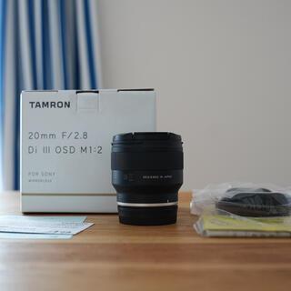タムロン 20mm f/2.8 Eマウント Tamron