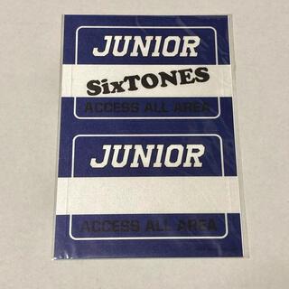 Johnny's - SixTONES ステッカー     グッズ