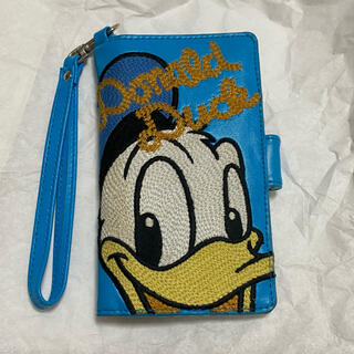 ディズニー(Disney)のドナルドダック 全機種対応カバー(スマホケース)