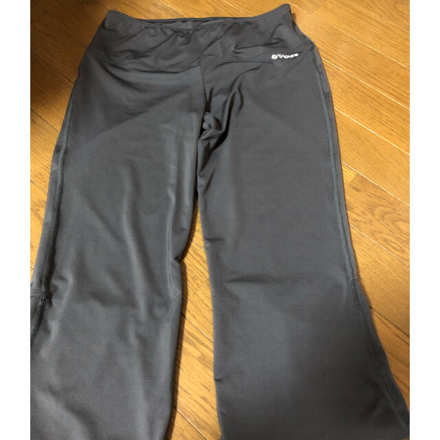 CHACOTT(チャコット)のチャコット chacott  7分丈パンツ M チャコールグレー スポーツ/アウトドアのトレーニング/エクササイズ(ヨガ)の商品写真