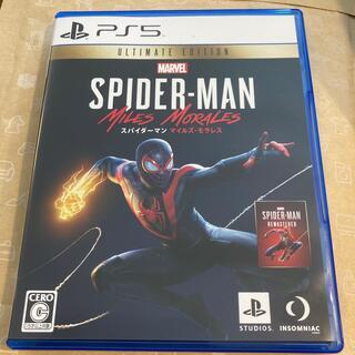 プレイステーション(PlayStation)の美品 Marvel's Spider-Man: Miles Morales(家庭用ゲームソフト)