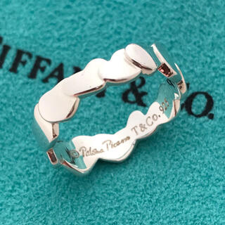 Tiffany & Co. - TIFFANY パロマピカソ ハートリング 12号 希少