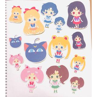 セーラームーン Sailormoon 紙シール(14枚)(その他)