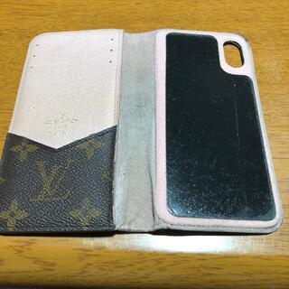 ルイヴィトン(LOUIS VUITTON)のルイヴィトン スマホケース iPhone X用(iPhoneケース)