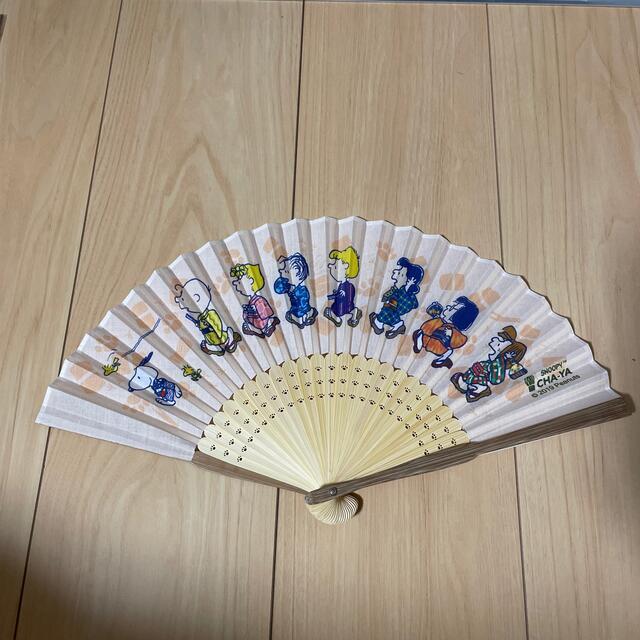 SNOOPY(スヌーピー)のSNOOPY 扇子 レディースの水着/浴衣(和装小物)の商品写真