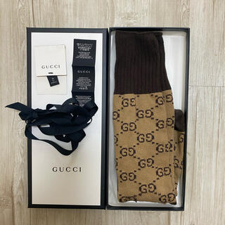 Gucci - Gucci GGパターン コットンブレンド ソックス 靴下