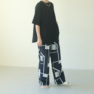 TODAYFUL - TODAYFUL  Geometric Tuck Trousers 36(S)