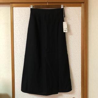 ユニクロ(UNIQLO)のユニクロ★リネンレーヨンナロースカート(ひざ丈スカート)
