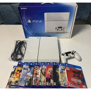 PlayStation4 - プレステ4 CUH-1100A PlayStation4 PS4 500GB 白