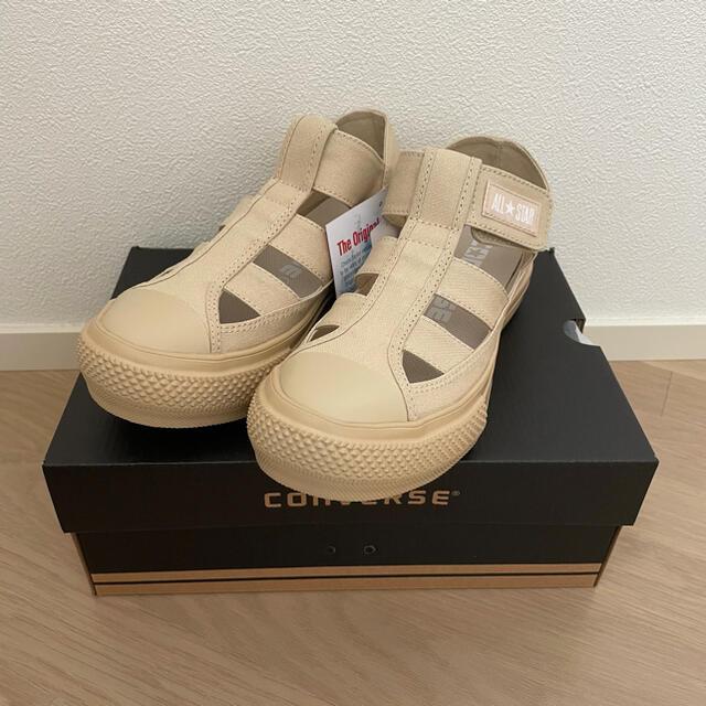 CONVERSE(コンバース)のコンバース AS LIGHT PLTS GLADIATOR OXベージュ23.5 レディースの靴/シューズ(スニーカー)の商品写真