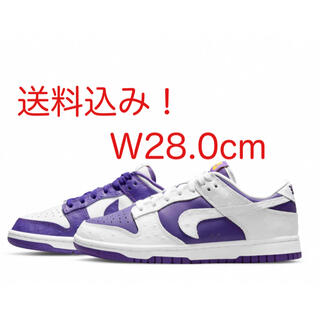 NIKE - NIKE WMES DUNK LOW MADE YOU LOOK 28.0