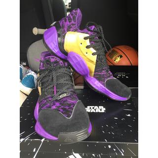 アディダス(adidas)の【美品】ハーデン4  スターウォーズ コラボ アディダス(バスケットボール)