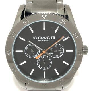 コーチ(COACH)のコーチ - CA.133.2.95.1752 メンズ 黒(その他)