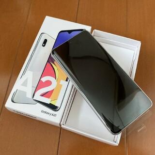 SAMSUNG - GALAXY ギャラクシー A21 SCV49 SIMフリー UQモバイル au