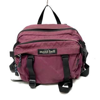 モンベル(mont bell)のモンベル - ボルドー×黒 ナイロン(ボディバッグ/ウエストポーチ)