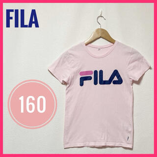 FILA - FILA✨Tシャツ トップス✨160 ピンク シンプルTシャツ ロゴ