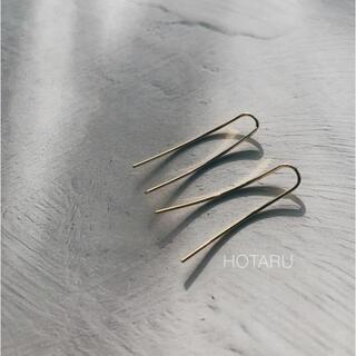 DEUXIEME CLASSE - ゴールドイヤークリップピアス 韓国 プチプラ