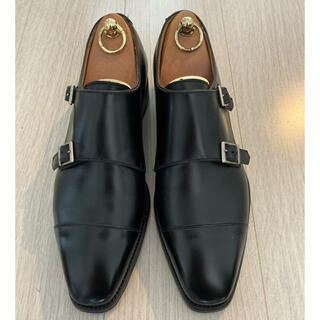 BERWICK 4474 ダブルモンク BOXCALF DAINITE SOLE