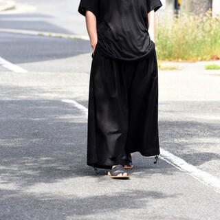 Yohji Yamamoto - yohji yamamoto ウールバルーンパンツ