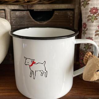 白ヤギさん黒ヤギさんマグカップ1個