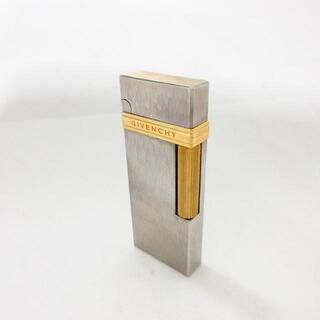 ジバンシィ(GIVENCHY)のジバンシー シルバー×ゴールド 金属素材(タバコグッズ)
