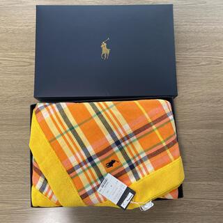 Ralph Lauren - ラルフローレン  日本製 シドニーマドラスガーゼ タオルケット 新品