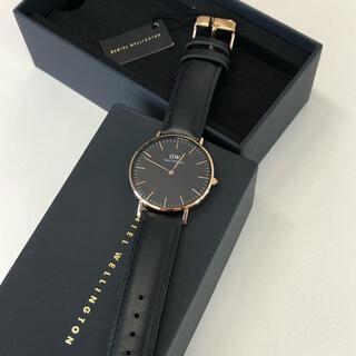 ダニエルウェリントン(Daniel Wellington)のダニエルウェリントン 腕時計 ブラック(腕時計(アナログ))