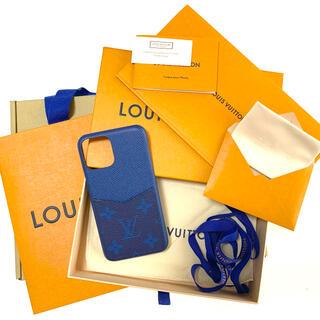 ルイヴィトン(LOUIS VUITTON)の美品!完売カラー ヴィトンiPhoneケース 11Pro(iPhoneケース)