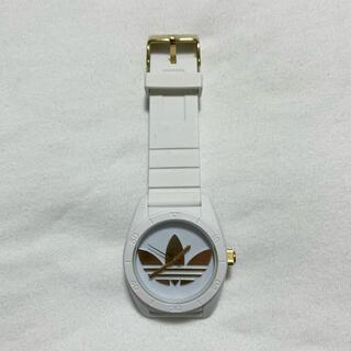 アディダス(adidas)のadidas 腕時計 白 金(腕時計)