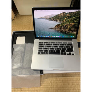 Mac (Apple) - 美品 15インチMacbook Retina  i7 16 750 VGA1TB
