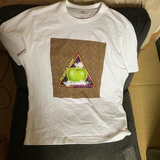 コーチ(COACH)のcoach tシャツ 恐竜 りんご アップル ブランドtシャツ(Tシャツ/カットソー(半袖/袖なし))