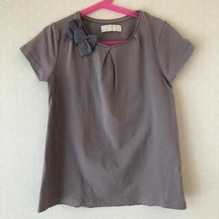 ザラキッズ(ZARA KIDS)のZARA  リボン付きカットソー 11/12  152㎝(Tシャツ/カットソー)
