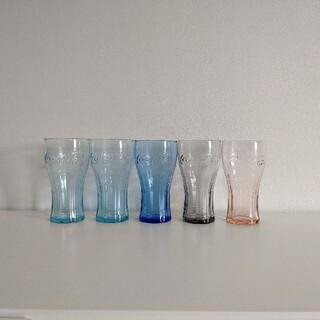 マクドナルド(マクドナルド)の〈未使用品10個まとめて出品〉コカ・コーラ マクドナルド グラス(グラス/カップ)