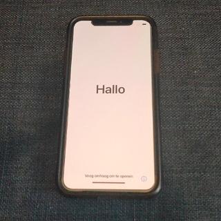 アップル(Apple)のiPhoneX 本体 64GB シルバー(スマートフォン本体)