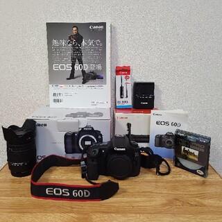 Canon - ママ鉄さんにお薦め EOS 60D キャノン 一眼レフ 高倍率ズーム 縦位置グリ