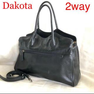 Dakota - Dakota ダコタ  ショルダーバッグ 2way プリンセス レザー ブラック