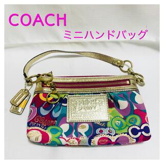 コーチ(COACH)のAランクレベル コーチ カラフルハンドバッグ(ハンドバッグ)