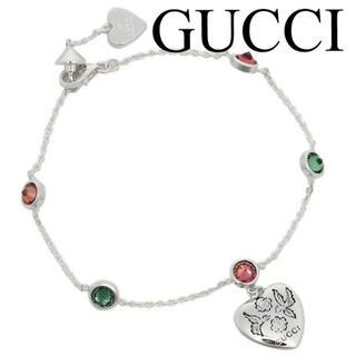 グッチ(Gucci)の未使用 GUCCI グッチ BLIND FOR LOVE ブレスレット シルバー(ブレスレット/バングル)