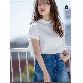 コーエン(coen)のcoen リピT ハイネック Tシャツ ホワイト(Tシャツ(半袖/袖なし))