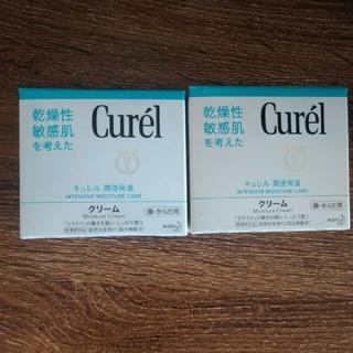 キュレル(Curel)の★キュレル★保湿クリーム2個セット☆箱角潰れあり☆(ボディクリーム)