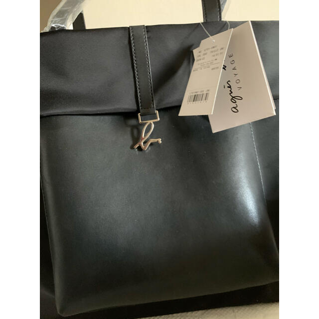 agnes b.(アニエスベー)のagnes b. アニエスベー  トートバッグ ハンドバッグ A4書類収納可❣️ レディースのバッグ(トートバッグ)の商品写真
