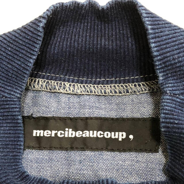 mercibeaucoup(メルシーボークー)のmercibeaucoup, デニムトレーナー メンズのトップス(スウェット)の商品写真